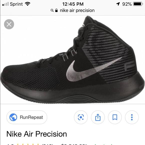 Nike air precision shoes